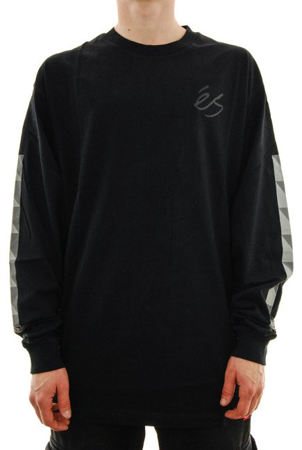 Longsleeve Es - Split Block black