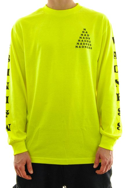 Longsleeve Madness - Trickle Down Premium safety green