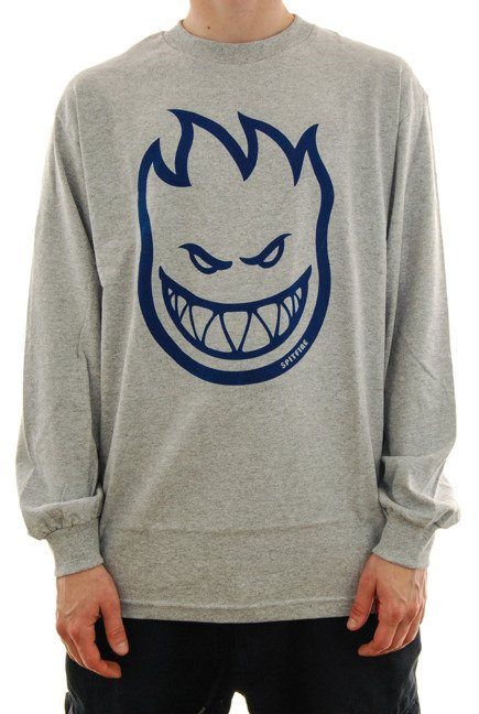 Longsleeve Spitfire - Big Head grey