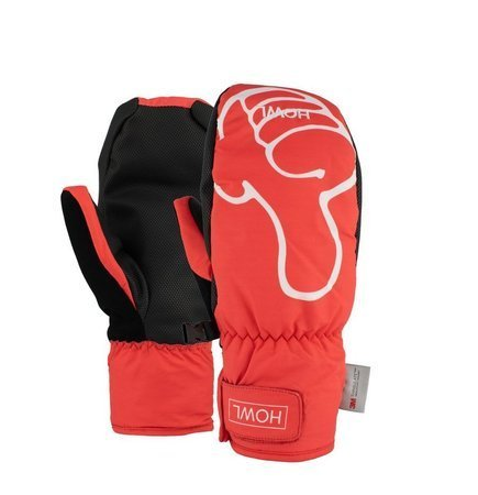 Rękawice snowboardowe HOWL - Flyweight Mitt Thumbs Up-Red