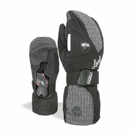 Rękawice snowboardowe Level - Wmn Butterfly Mitt Biomex Dark
