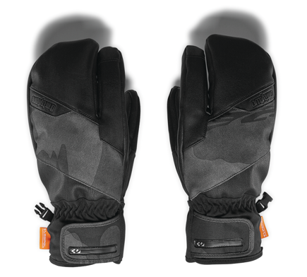 Rękawice snowboardowe Thirty Two  - Tm Trigger Mitt Black