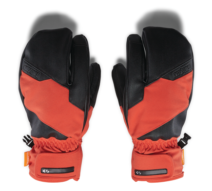Rękawice snowboardowe Thirty Two  - Tm Trigger Mitt Orange