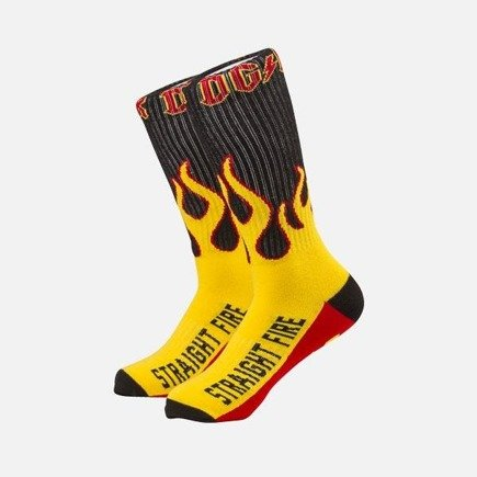 Skarpety DGK - Straight Fire Socks