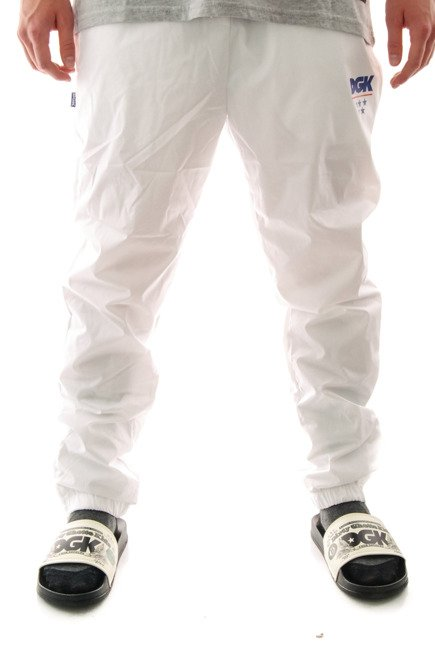 Spodnie DGK - Boardwalk Swishy white
