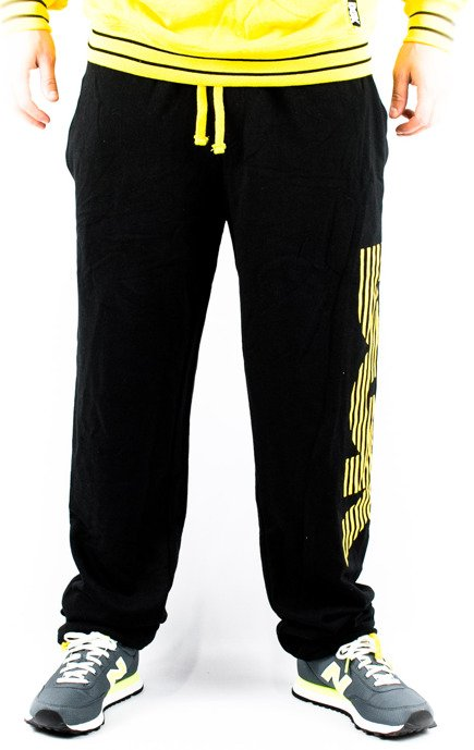 Spodnie DGK - Movement  Black/Yellow