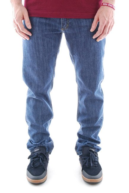 Spodnie Elade - Classic Regular Light Navy Denim