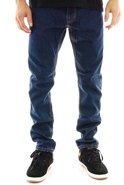 Spodnie Elade - Selvedge blue denim