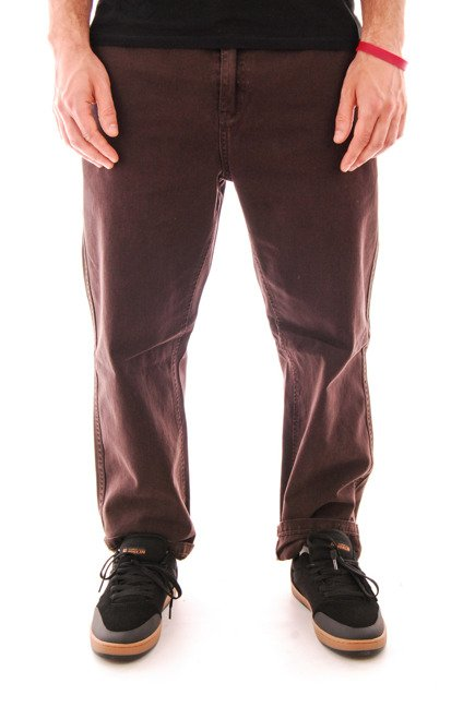 Spodnie Emerica - Defy Chino Dark Brown