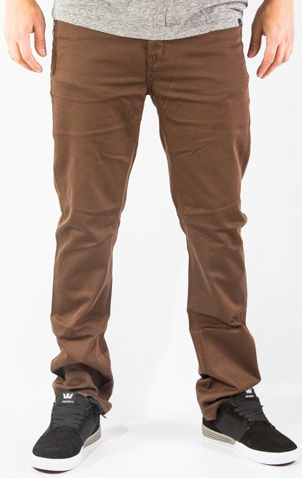 Spodnie Kr3w - K Slim 5 Pocket Twill Soil