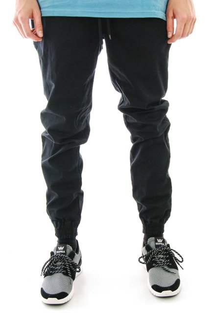 Spodnie Nasa Hustla - Jogger Chino Black
