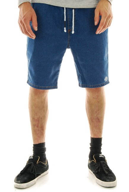 Szorty Elade - Jogger Shorts Light Blue Denim