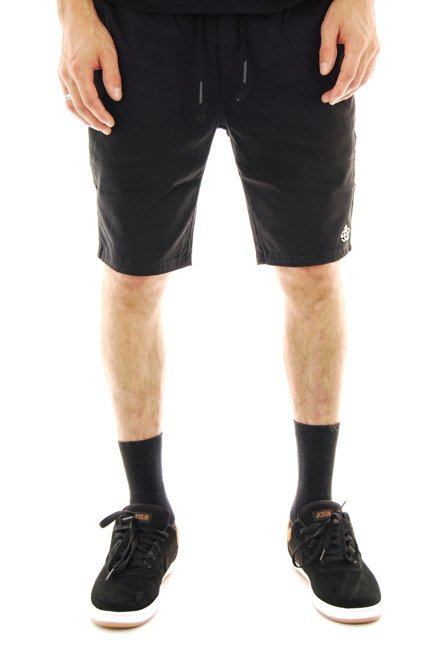 Szorty Elade - Jogger Shorts black Pants