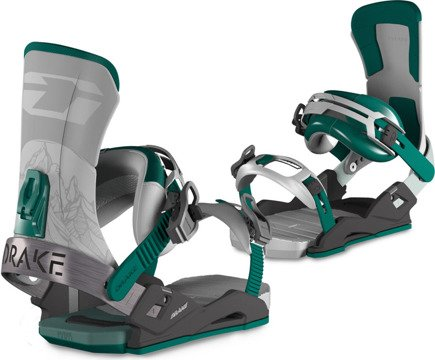 Wiązania Drake - Super Sport Grey/Black/Green