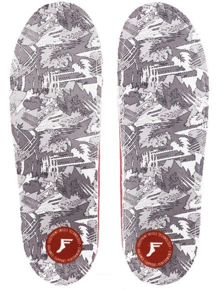 Wkładki do butów Footprint Insoles - White Camo PU Gamechangers