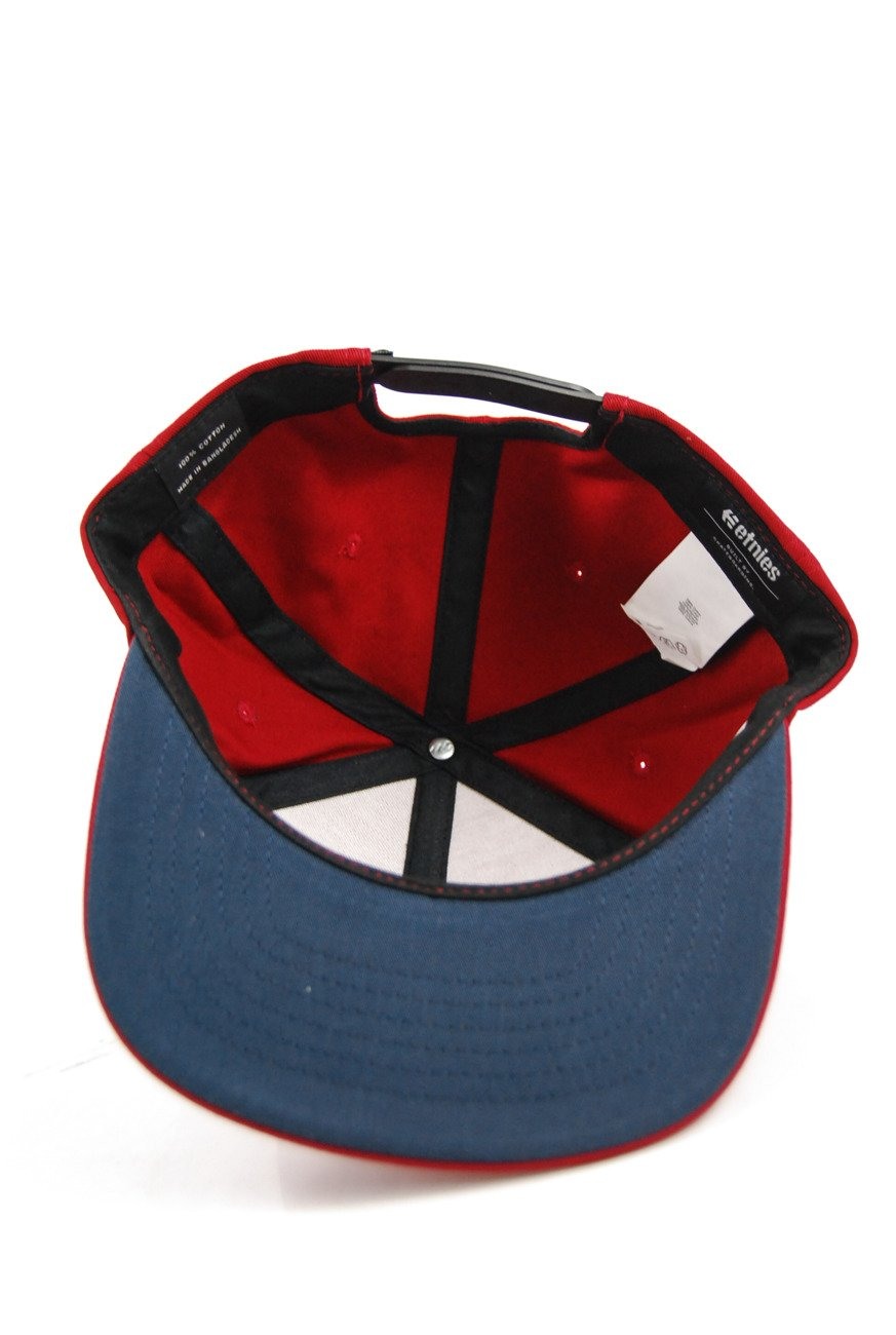 competitive price 15eb1 1d94a ... Czapka z daszkiem Etnies - Corp Box Mix Snapback Red