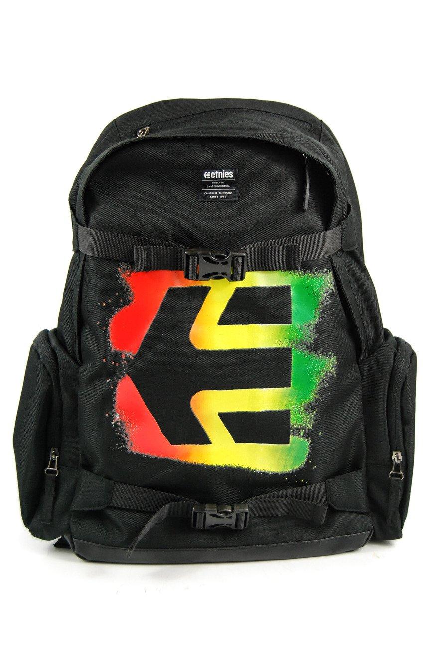 1a92381499135 Plecak Etnies - Essential Skate black rasta ...