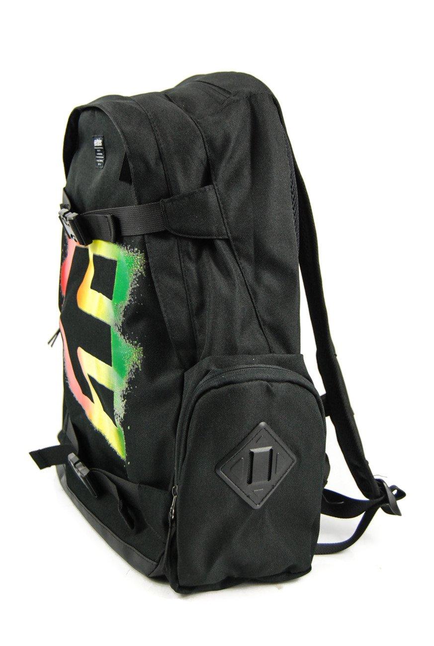 1b38a465c5aef ... Plecak Etnies - Essential Skate black rasta ...