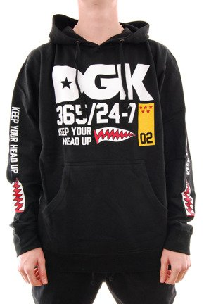 Bluza DGK - Heads Up black