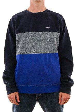 Bluza Enjoi - Body Jam Crew Navy/Athletic Heather/Blue