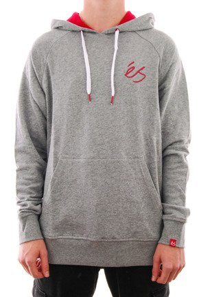 Bluza Es - Script HD grey/heather