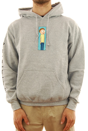 Bluza Primitive - Morty Vortex grey