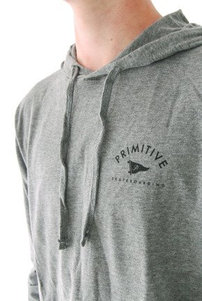 Bluza Primitive - Pennant Arch Pullover Hoodie Black