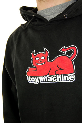 Bluza Toy Machine - Devil Cat black