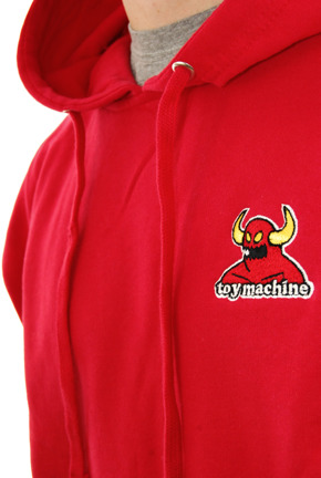 Bluza Toy Machine - Monster red