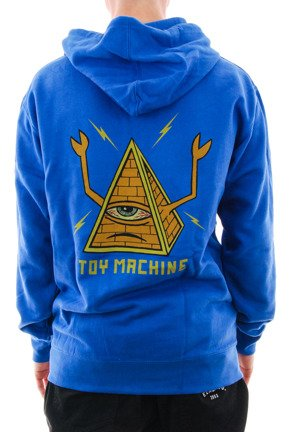 Bluza Toy Machine - Pyramid Zip Royal
