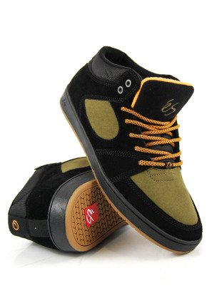 Buty éS  -  Accel Slim Mid black/brown