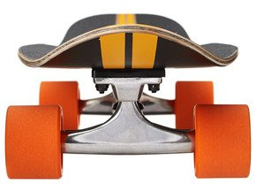 Cruiser Dusters California - Glassy Pinstripe Fiberglass Black/Orange