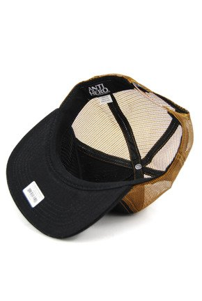 Czapka z daszkiem Antihero - Stay Ready Trucker Tan/Black