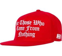 Czapka z daszkiem DGK - From Nothing Snapback red