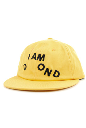 Czapka z daszkiem Diamond Supply Co. - I Am Snapback yellow