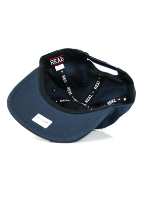 Czapka z daszkiem Real - Oval Patch Snapbak Navy