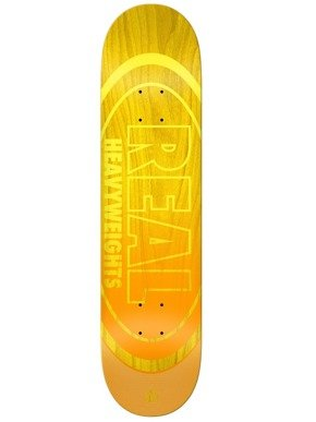 Deck Real - Team Heavyweights Yellow HW NEW !!