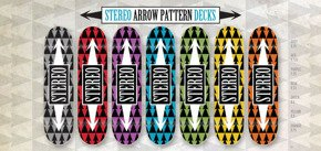 Deck Stereo - Arrows Pattern Blue