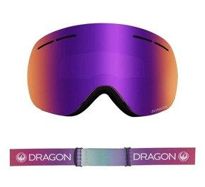 Gogle Dragon X1s -  Candy/L.Purple Ion + L.Amber Lens Free