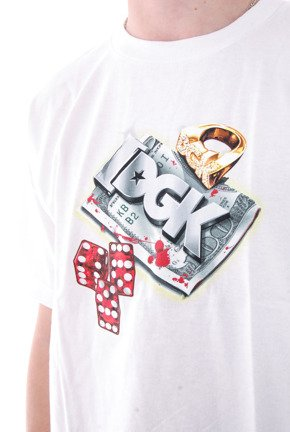 Koszulka DGK - Roll Out White
