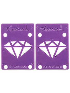 "Podkładki Diamond Supply Riser Pads 1/8"" Purple"