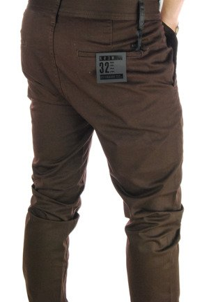 Spodnie Kr3w - K Standard Chino Dark Chocolate