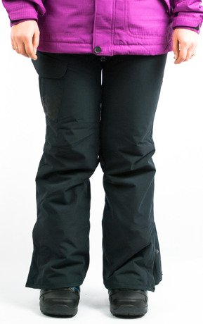 Spodnie snowboardowe 686 - WMN Authentic Misty Black