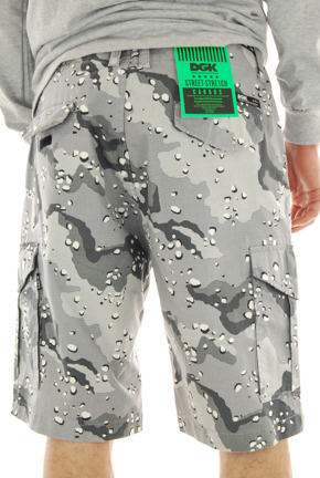 Szorty DGK - OGS Cargo Snow Camo Shorts
