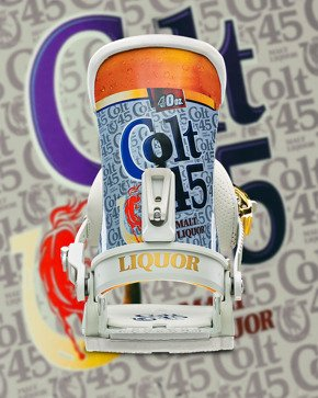 Wiązania UNION - Custom House x Colt 45 (malt liquor)